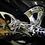 Thumbnail: Hayabusa Chrome 3D Kanji Exhaust Plug