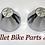 Thumbnail: 3D Cone Cut Fork Cap Covers 2pcs