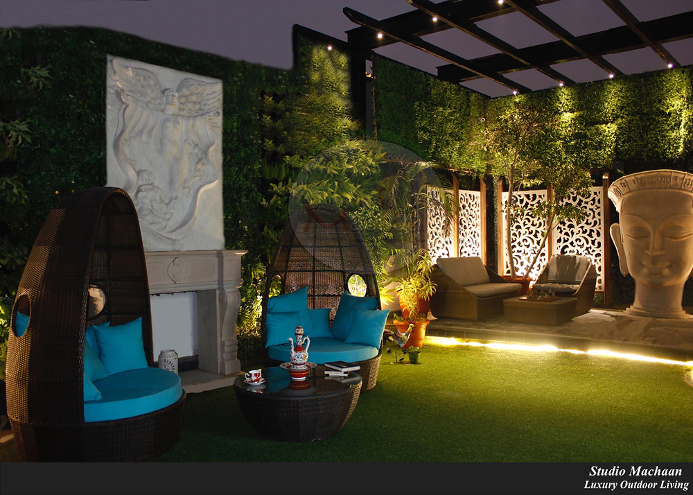 Terrace Garden Designers, Outdoor Furniture, Vertical Landscaping in Delhi