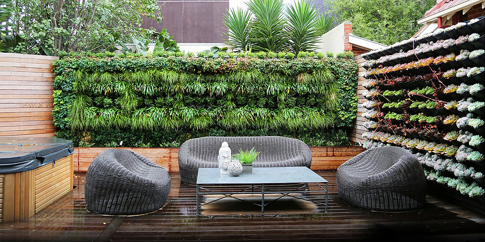 Vertical Landscaping, Terrace Designers, Delhi