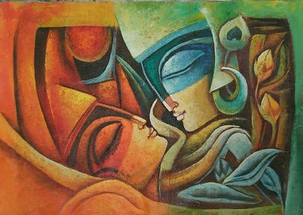 Buy modern art paintings online, Art gallery in Delhi
