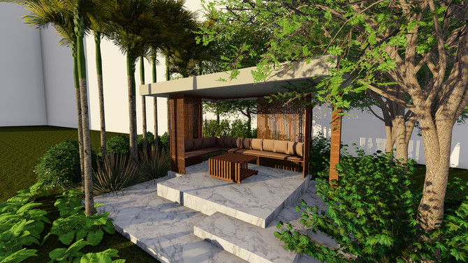 Covered Spaces on Terrace - Gazebo, It's Origin & Different Styles