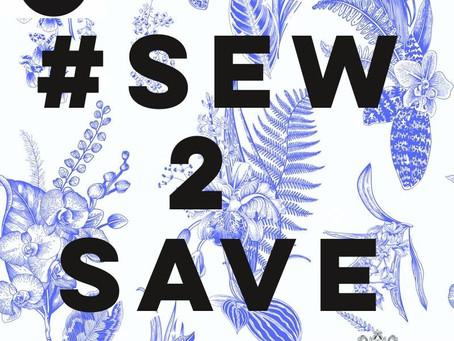 #SEW2SAVE