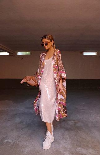 Renaissance Silky Jacket/ Kimono