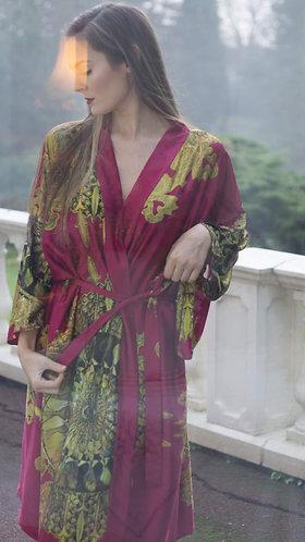 Pink Aztec Kimono