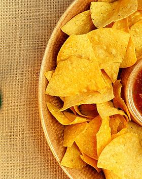 Nachos et salsa