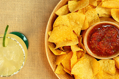 500G Salsa + 500G Chips Party Size!