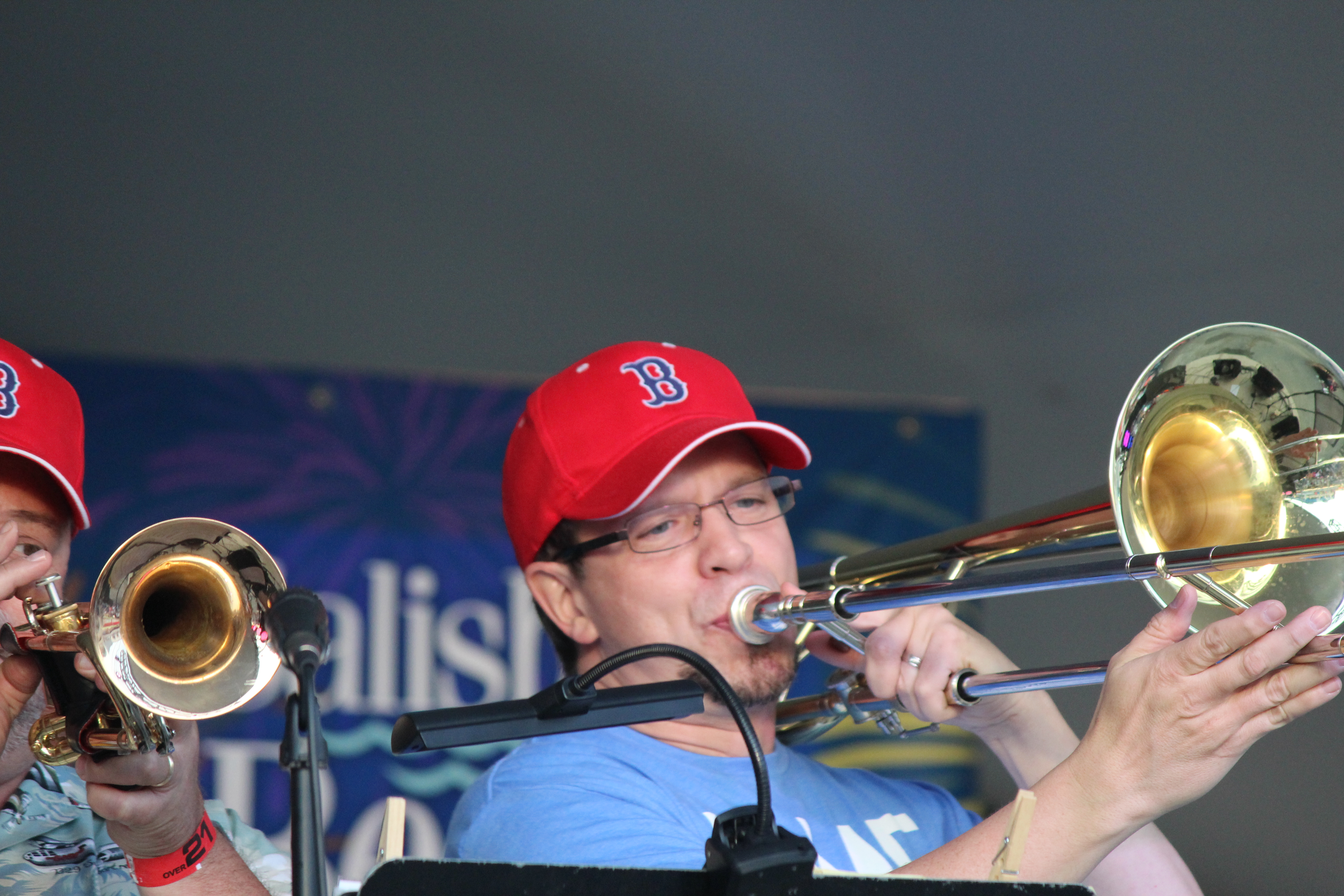 THE trombone!  Mr. Mike Grady