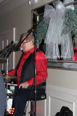 Our drummer, Tommy McQ