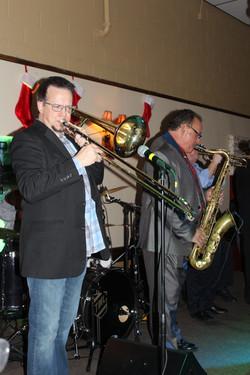 THE trombone man...