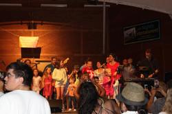 Our biggest little fans at Hampton!
