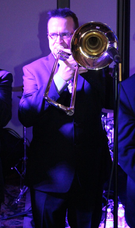 'Mr. Trombone', Michael Grady