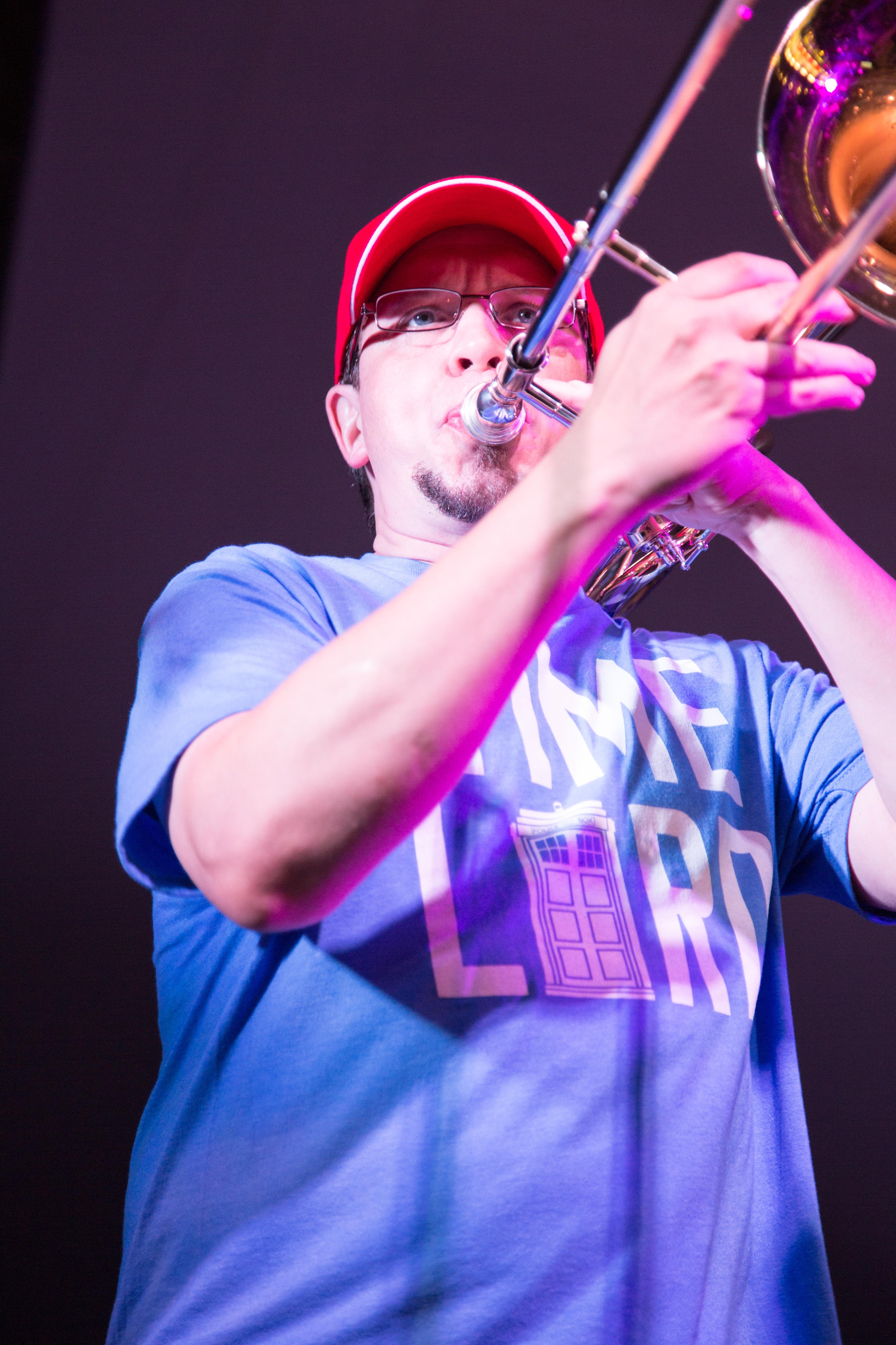 Mike Grady- Trombone!