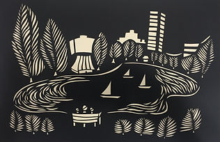 gillianfurniss.papercutting.boatingpond.