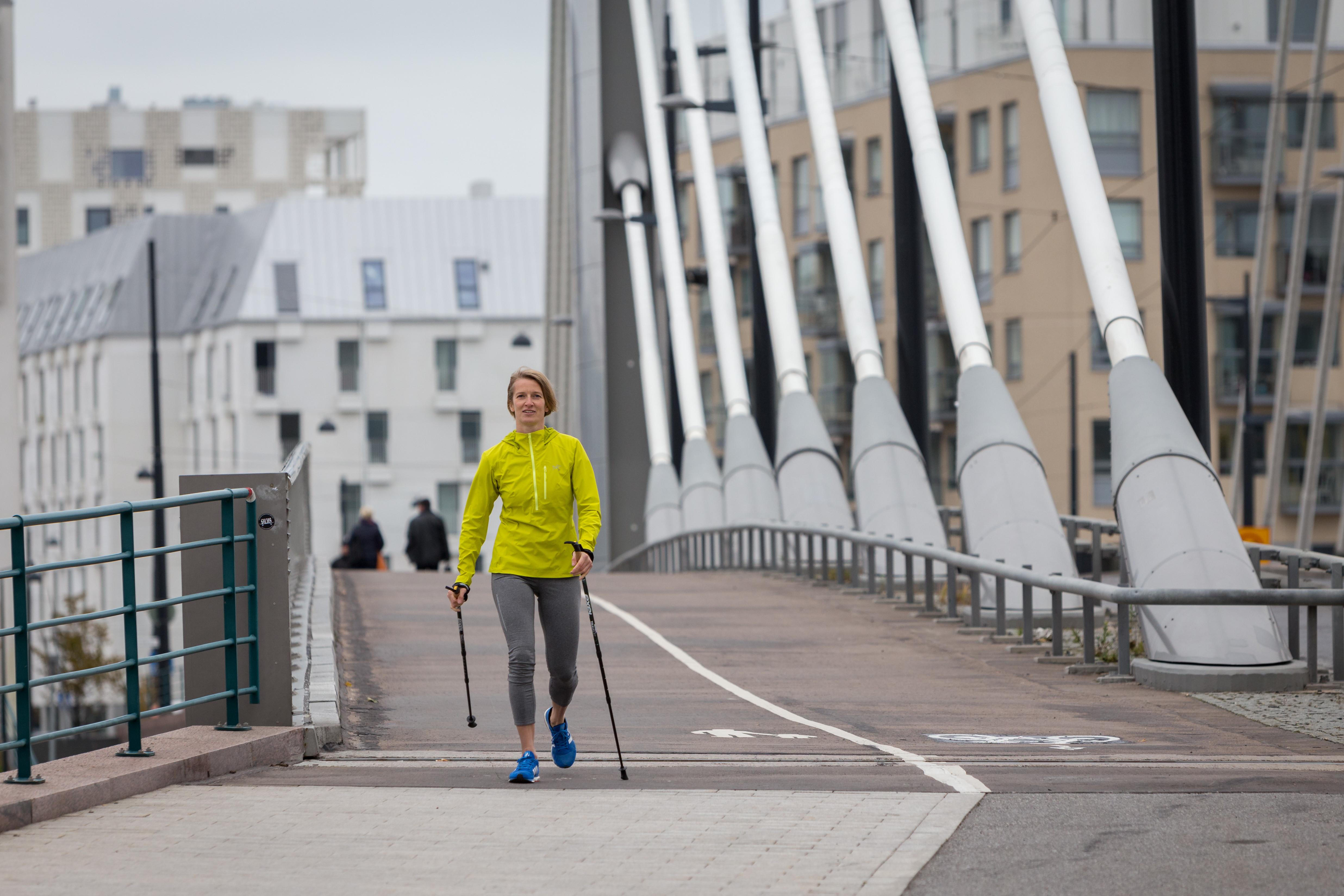 Nordic walking tour