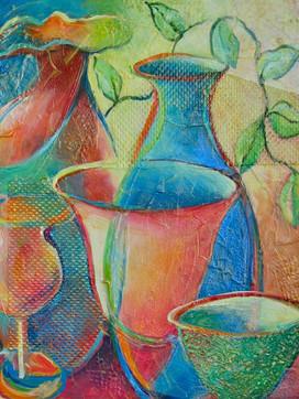 Still Life of Vases 1