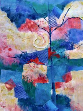 Tree in Blues