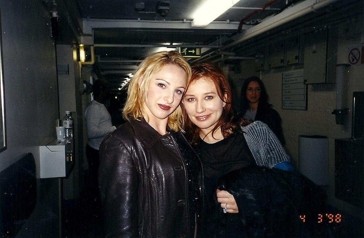 Nicole with Tori Amos - 1998