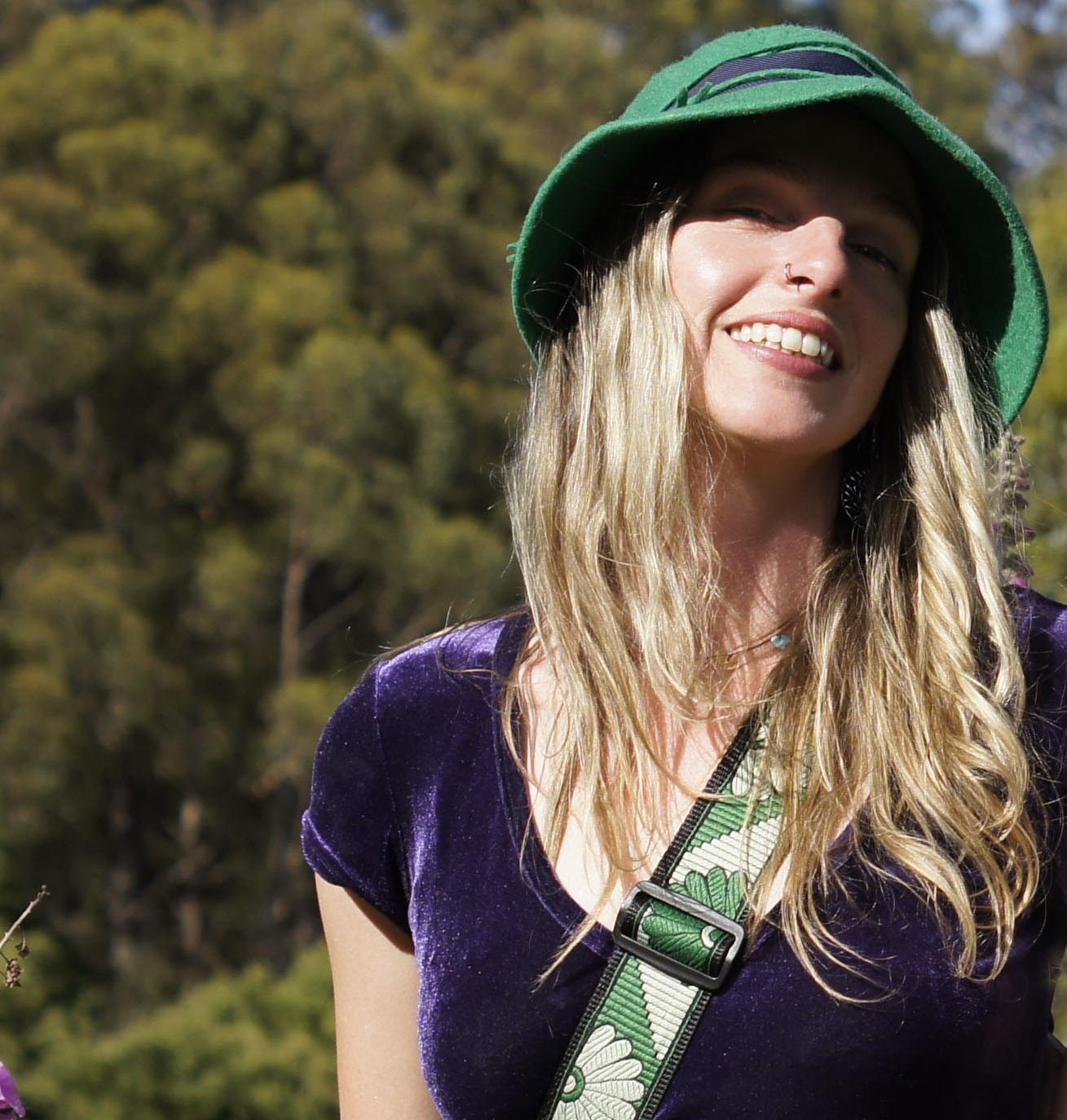 Nicole all smiles