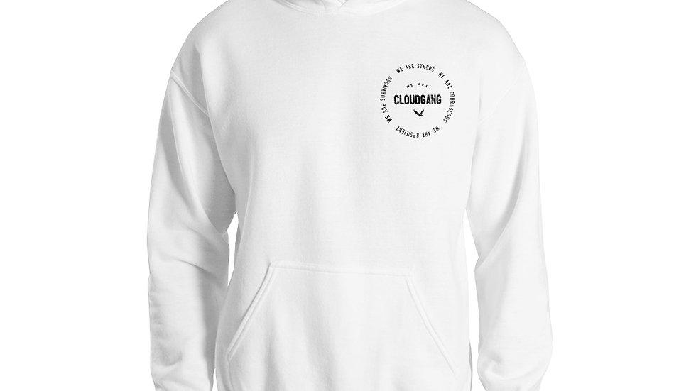 We Are CloudGang Circle Logo Hoodie