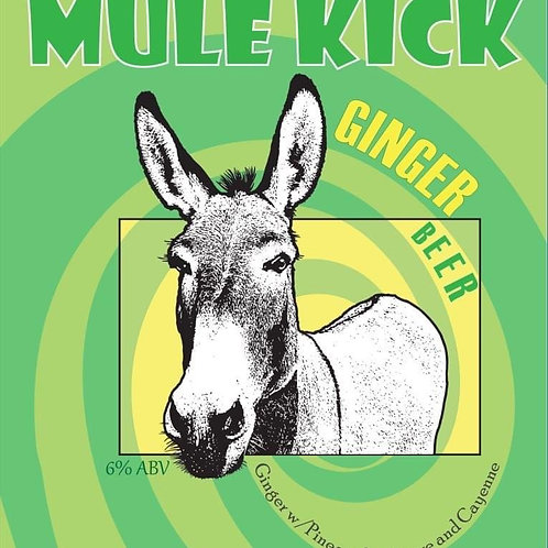 Mule Kick - Ginger Beer- 7% ABV