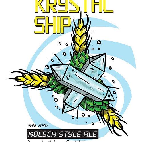 Krystal Ship - Kolsch- 5%ABV