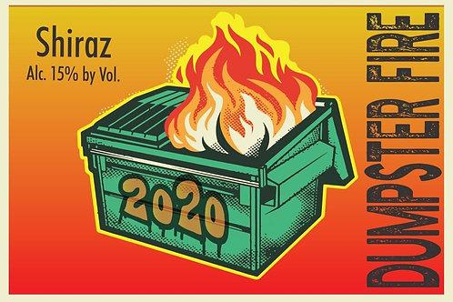 Dumpster Fire - Shiraz - 15% ABV 750ml