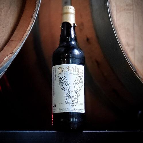 Bourbon Barrel Aged Jackalope - Imperial Brown ale- 8.5% ABV -22oz