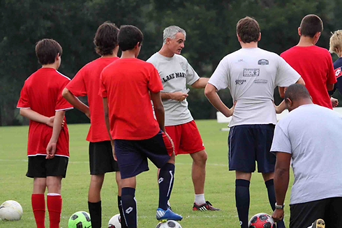 Goat Soccer Training Skip Coaching