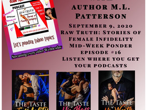 Author M.L. Patterson visits the podcast about his infidelity series