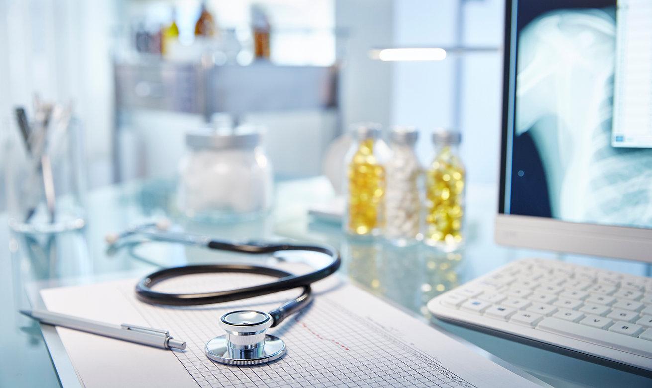 Grafico & stetoscopio