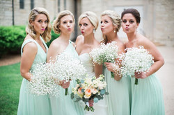 emily wedding party pout face