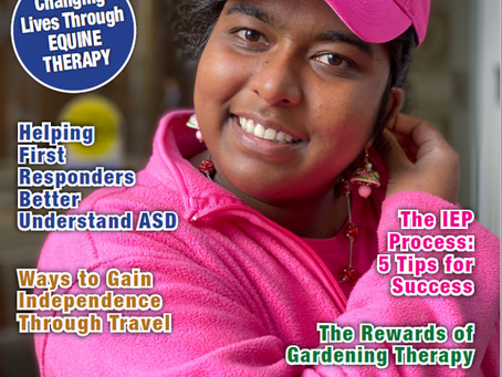 Future Clearwater Ranch Resident Featured in Autism Parenting Magazine