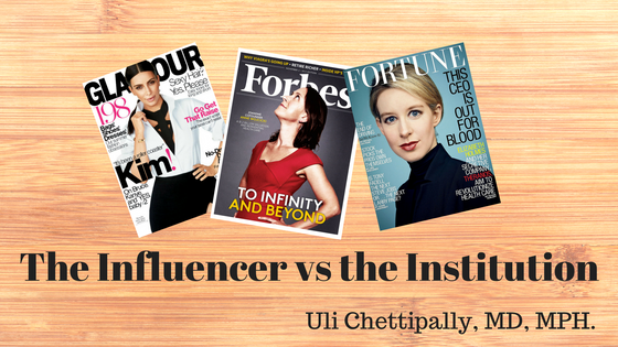 The Influencer vs the Institution - Role of Regulators