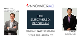 Physician Investor Course - The Empowered Physician