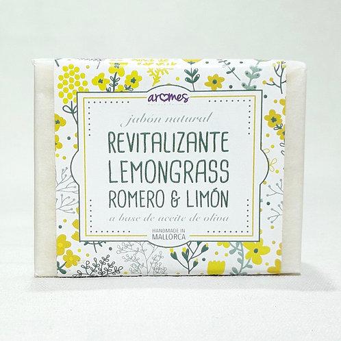 Jabón Revitalizante Lemongrass Romero y Limón