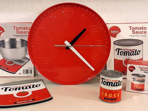 Reloj de pared Tomato Sauce