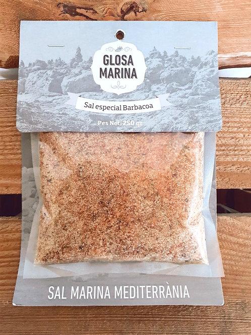 Sal marina aromática Barbacoa