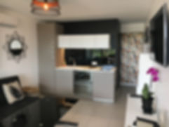 Location appartement village quartier naturiste cap d'agde Port Nature 5 Waiki beach