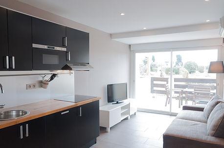Location appartement village quartier naturiste Cap d'Agde Port Nature