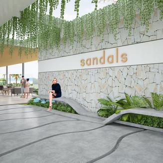 Mia Resort, Sandals, Nha Trang