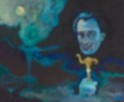 Portrait of Salvador Dali by Nina Vox