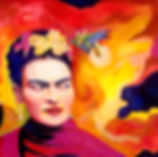 Portrait of Frida Kahlo by Nina Vox