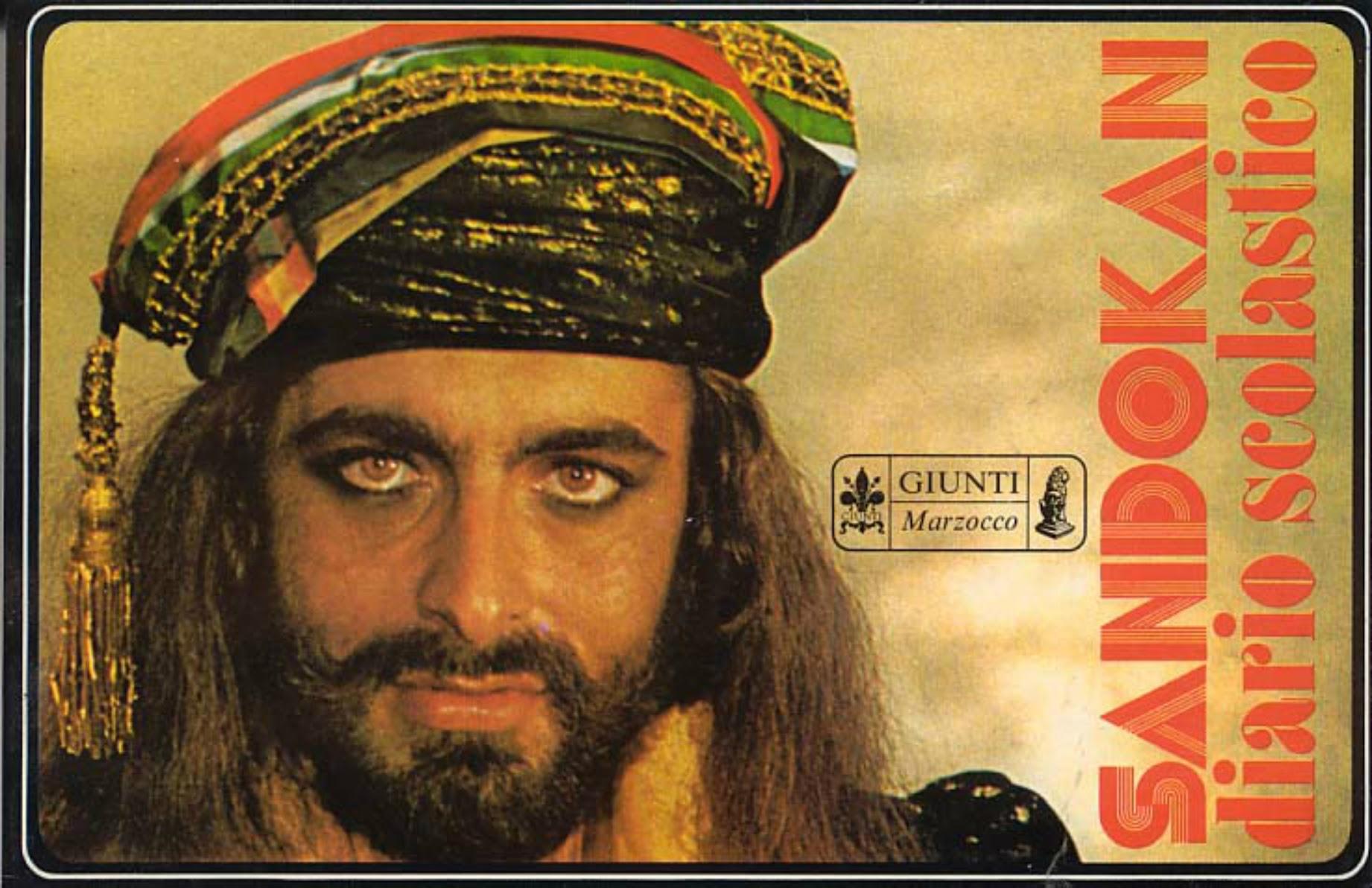 Sandokan Poster Italian