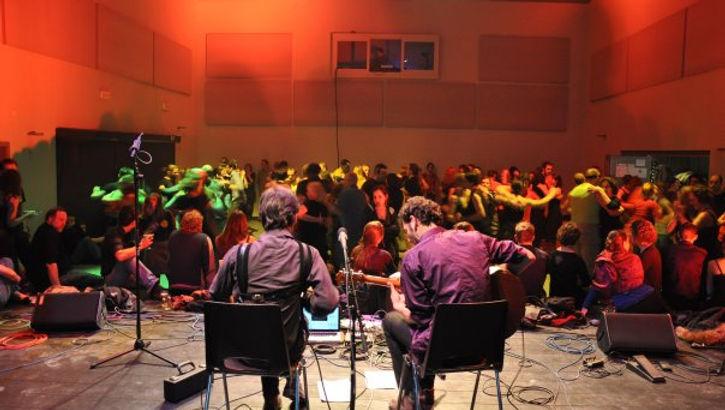 Duo Absynthe sur scène