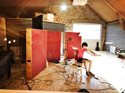Enregistrement du Duo Cam&Léon