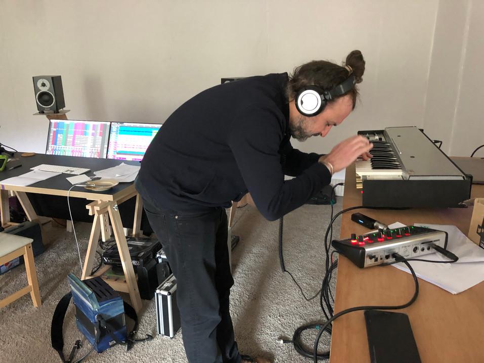 Enregistrement du farfisa pour Ciac Boum