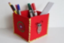 art creativ bastelgeburtstag - filzboxen