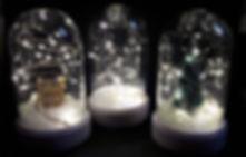 art creativ bastelgeburtstag - Lichterglocken