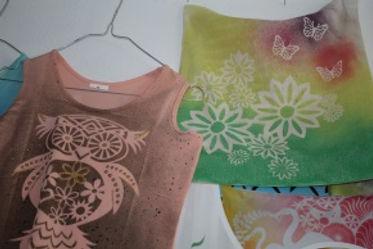 art creativ bastelgeburtstag - t-shirts